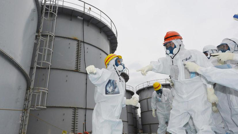 На АЭС Фукусима после тайфуна уровень радиации в 30 раз превысил норму