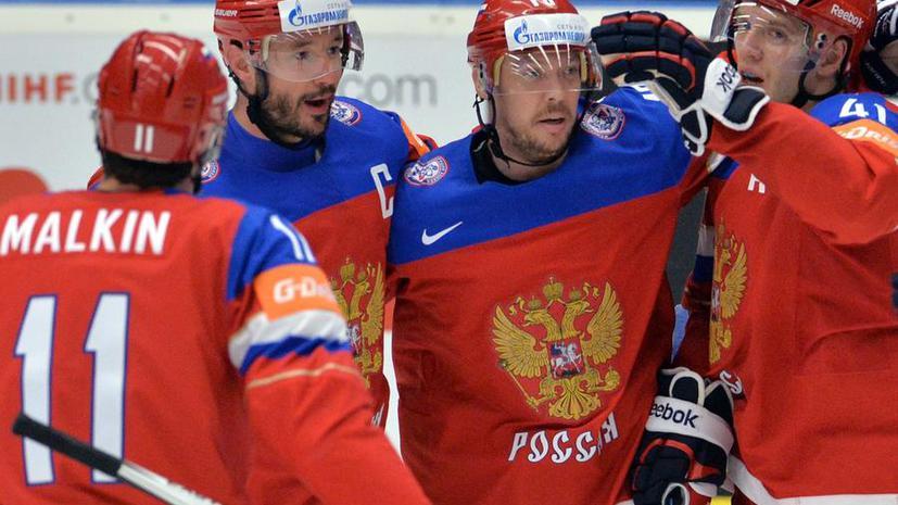 Россия сыграет с США в полуфинале чемпионата мира по хоккею