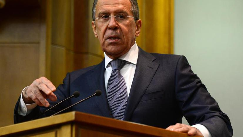 Сергей Лавров: Украине следовало бы решать вопрос об ассоциации с ЕС после выборов