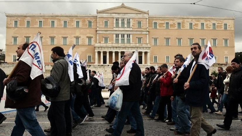 Уровень безработицы в Греции вдвое выше, чем у других стран еврозоны