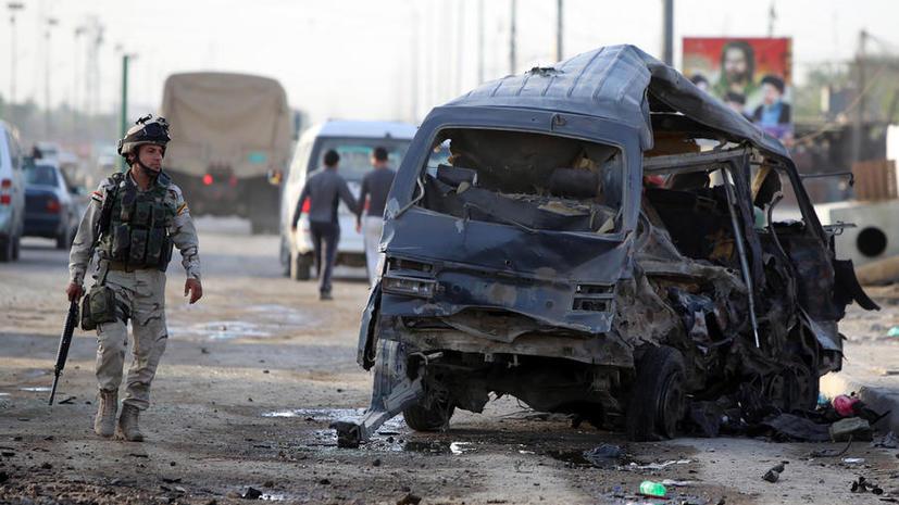 Серия терактов в Багдаде унесла жизни более 70 человек