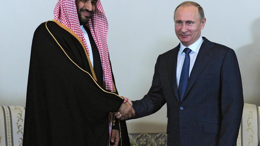 СМИ: Власти Саудовской Аравии нашли нового друга в лице Владимира Путина