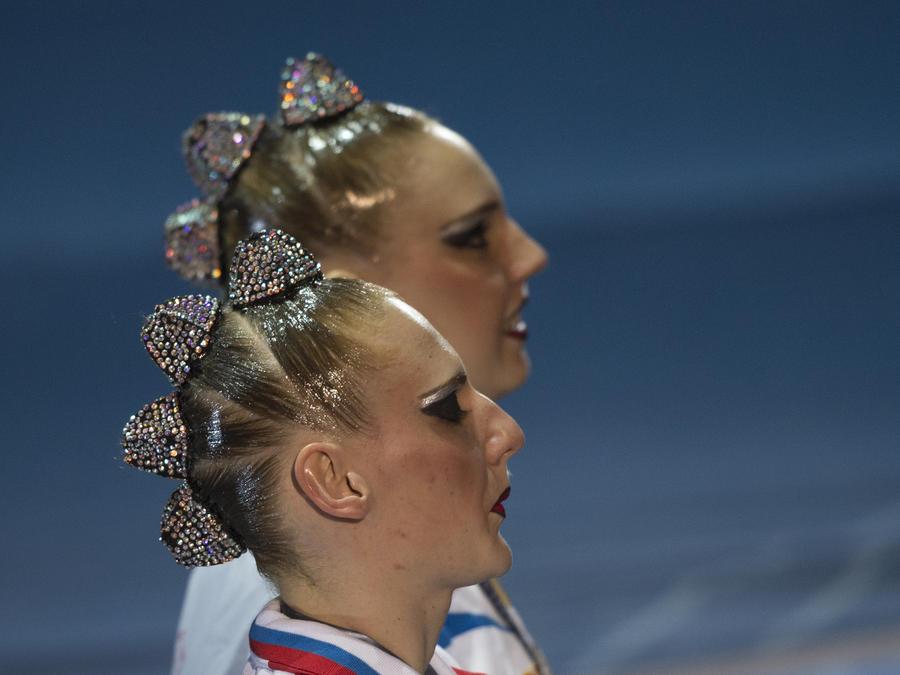 Российская синхронистка Светлана Ромашина стала 15-кратной чемпионкой мира