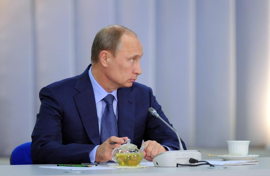 Владимир Путин: Россия готова заменить австрийский контингент на Голанских высотах