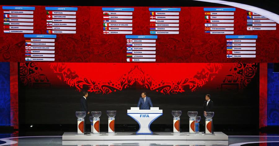 чемпионат мира по футболу 2018 отборочный турнир жеребьевка