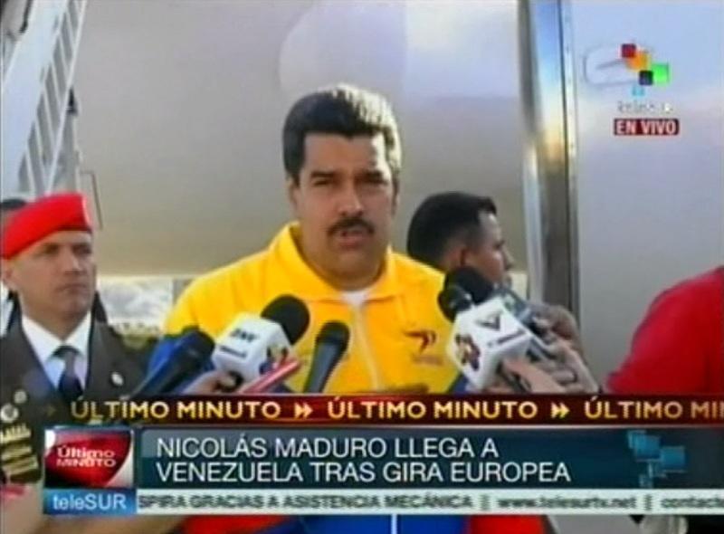 Мадуро: США подали в Венесуэлу запрос об экстрадиции Эдварда Сноудена