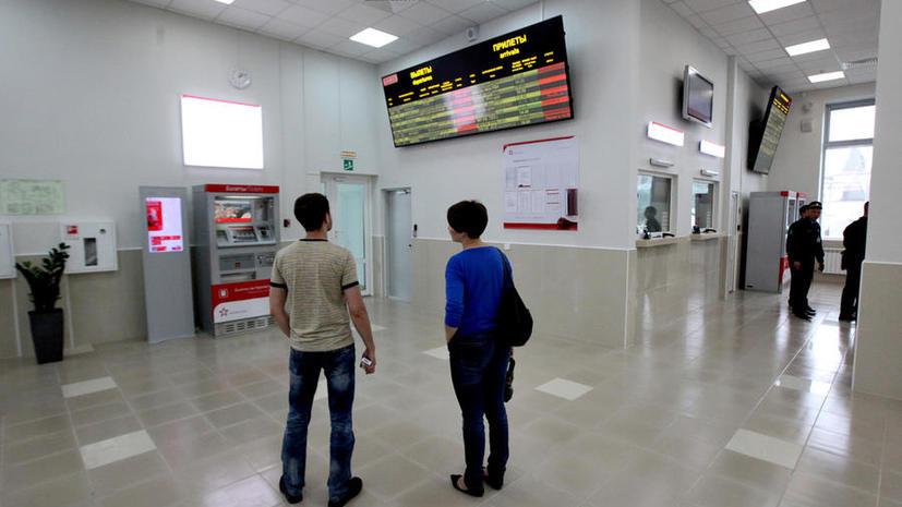 «Аэроэкспресс» еще раз изменил график движения поездов между Москвой и «Домодедово» из-за ДТП