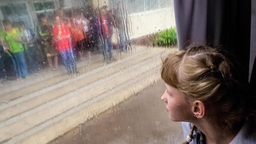 Дети из Славянска благополучно прибыли в Крым