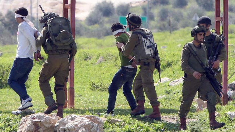 ЮНИСЕФ: Израиль нарушает права палестинских подростков