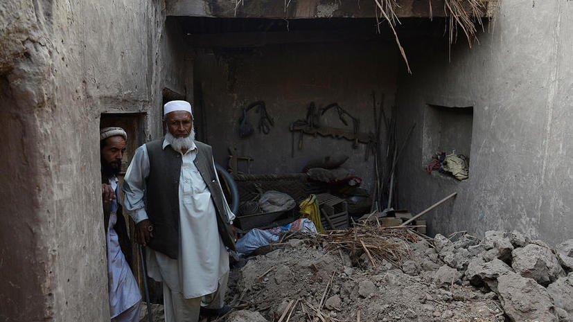 Землетрясение в Пакистане: более 200 погибших