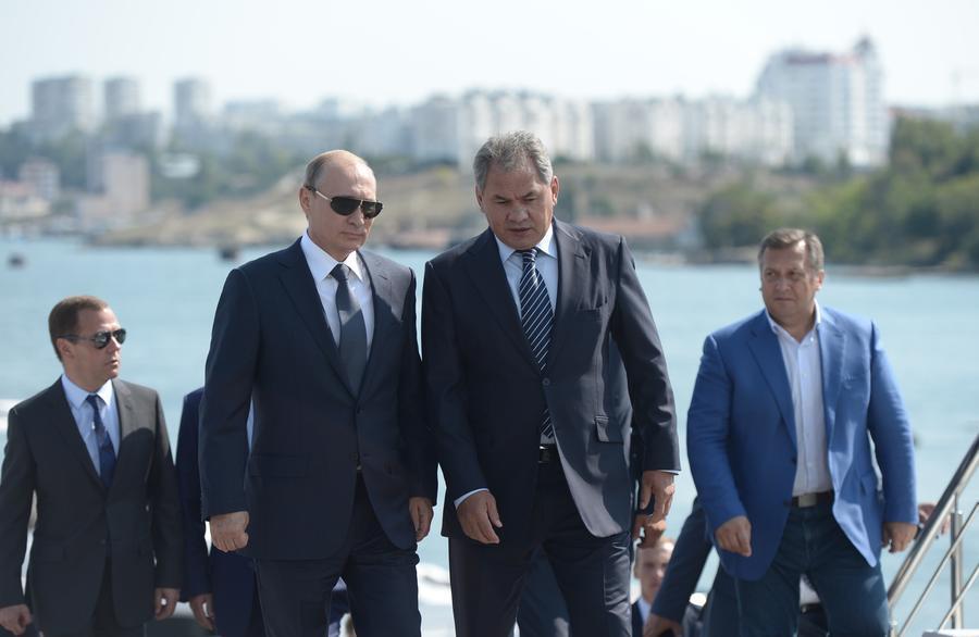 Владимир Путин: Внешние силы готовят диверсантов для подрывной деятельности в Крыму