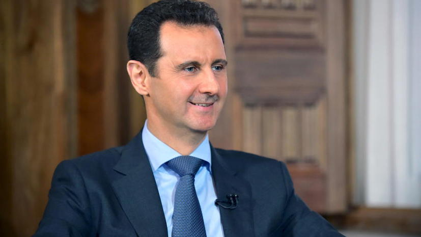 Башар Асад: Помощь России необходима сирийской армии для прорыва в борьбе с терроризмом