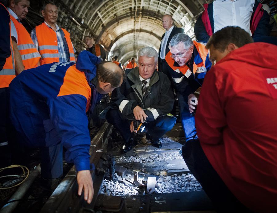 Мэр Москвы Сергей Собянин сделает «кадровые выводы» в связи с катастрофой в столичном метро