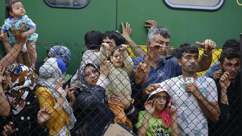 Эксперт: Миграционный кризис в ЕС был намеренно устроен США