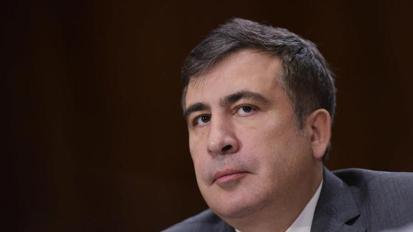 Украинские СМИ: Обличитель олигархов Михаил Саакашвили умолк по просьбе Петра Порошенко