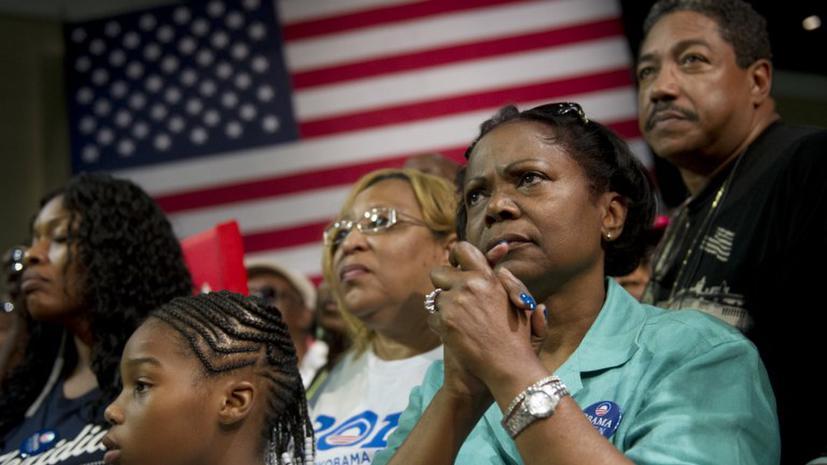 Через 30 лет белые американцы станут  меньшинством в США