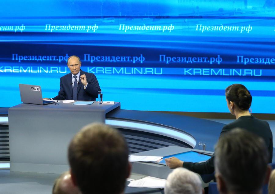 Владимир Путин в апреле проведёт «прямую линию», посвящённую Крыму