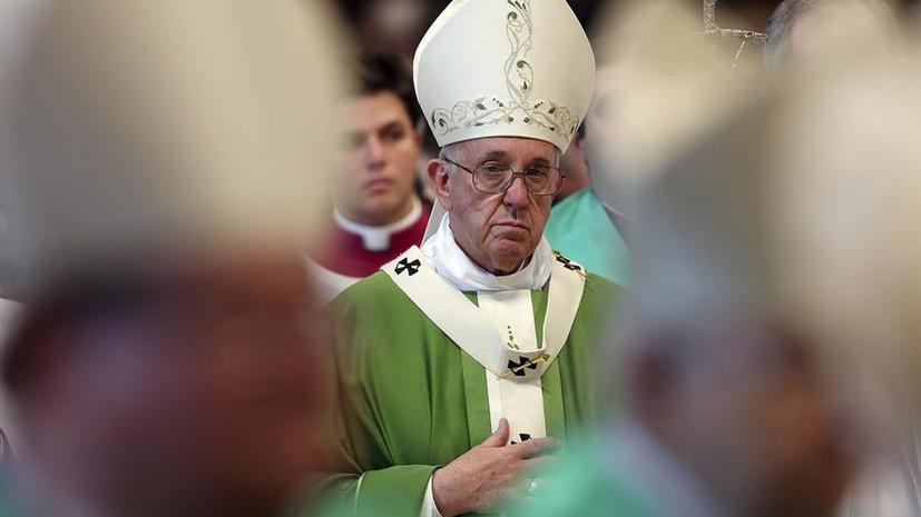 СМИ: Папа Римский Франциск призывает католическую церковь оставить консерватизм