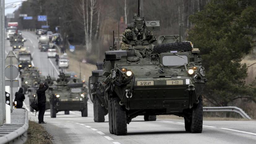 США разместят в Восточной Европе тяжёлое вооружение, чтобы защититься от «российской агрессии»