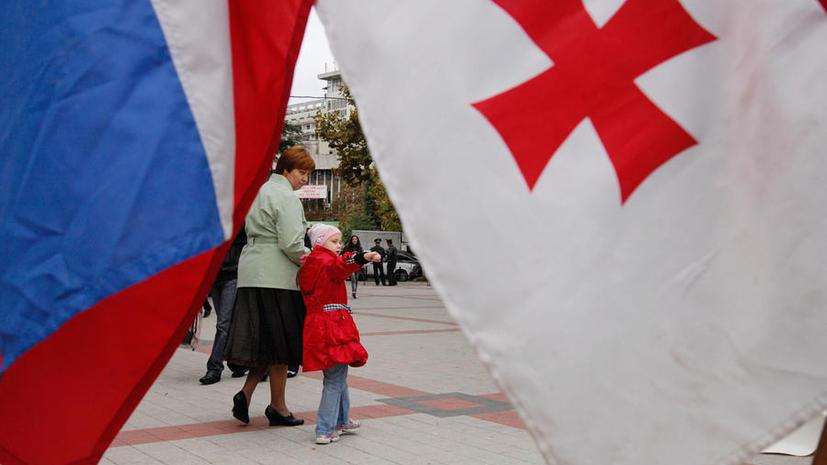 СМИ: Улучшая отношения с Грузией, Россия обводит Запад вокруг пальца