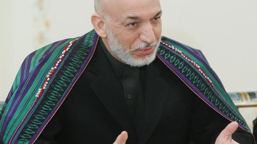 Хамид Карзай разрешил США сохранить военные базы в Афганистане после 2014 года