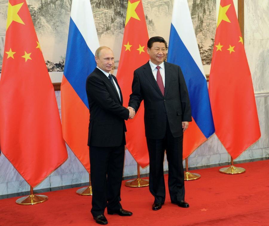 Владимир Путин на встрече с Си Цзиньпином: Взаимодействие РФ и КНР важно для мировой стабильности