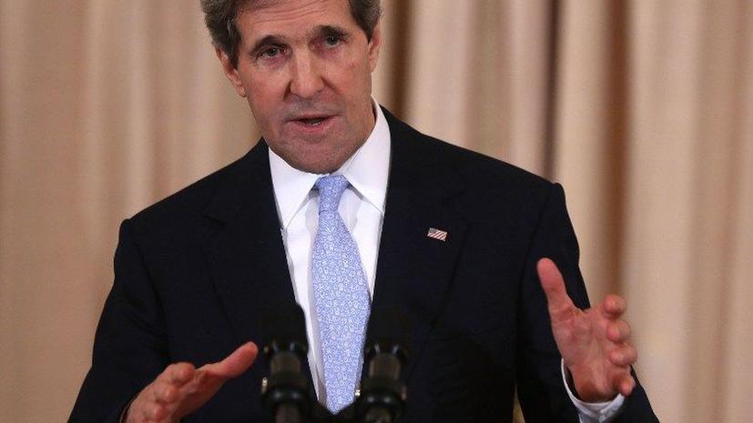 Керри: «Выбор исключительно за Ираном»