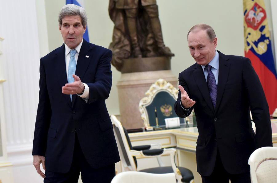 Владимир Путин выразил желание детально обсудить с Джоном Керри актуальные вопросы