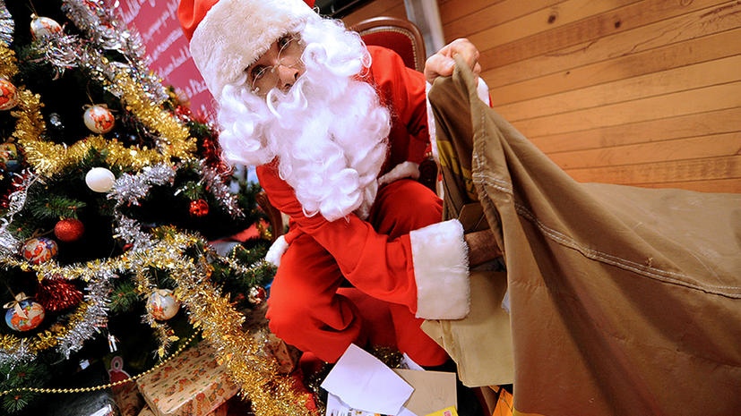 Американец выстрелил в Санта-Клауса и покончил с собой