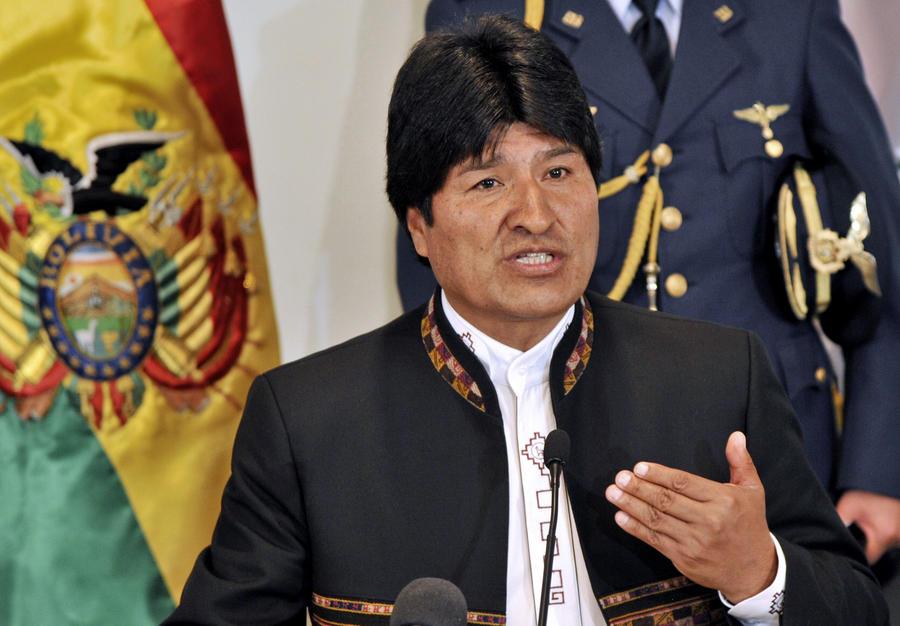 Боливийский парламент открыл путь Эво Моралесу на президентские выборы 2014 года
