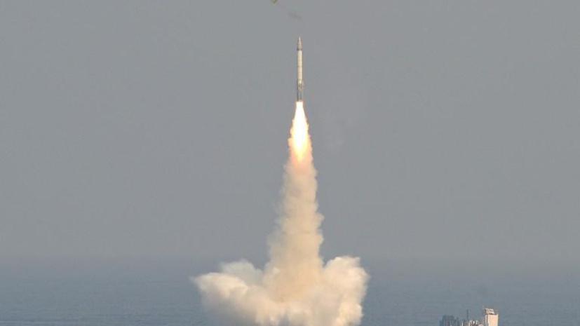 Минобороны России зафиксировало запуск двух баллистических целей в направлении восточного Средиземноморья