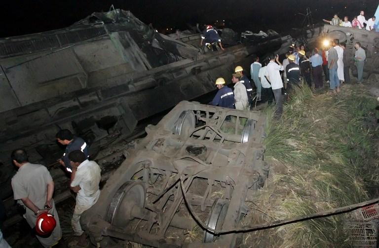 В Египте разбился эшелон с призывниками: 19 погибших, более 100 раненых