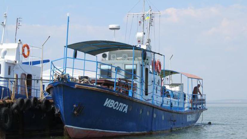 Украинские спасатели ведут поиски ещё восьми человек в районе крушения катера под Одессой