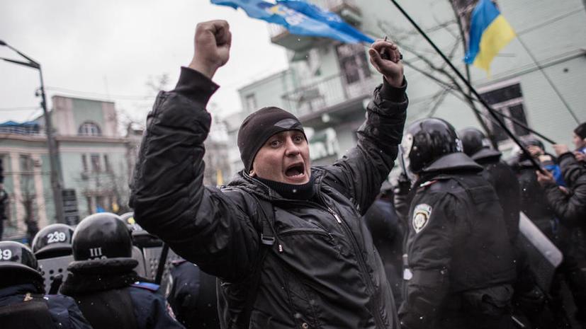 Верховная рада приняла закон об амнистии для участников массовых акций протеста