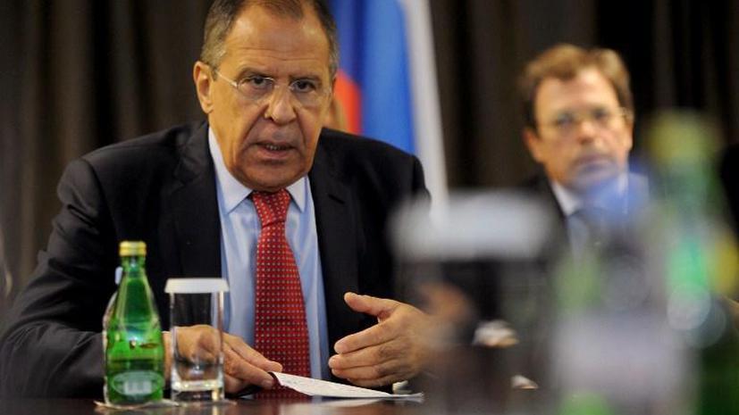 Сергей Лавров в разговоре с западными партнёрами высказал возмущение нападением на посольство РФ в Киеве