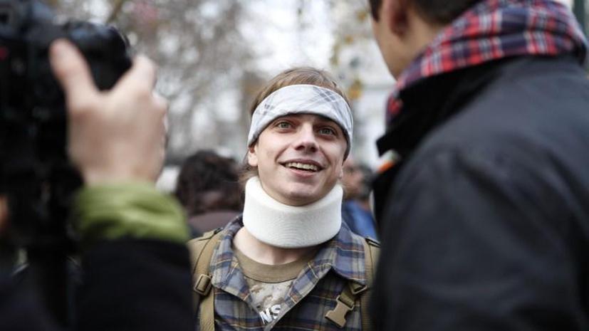 Ветеран Ирака получил $4,5 млн за то, что был избит полицейскими во время протестов