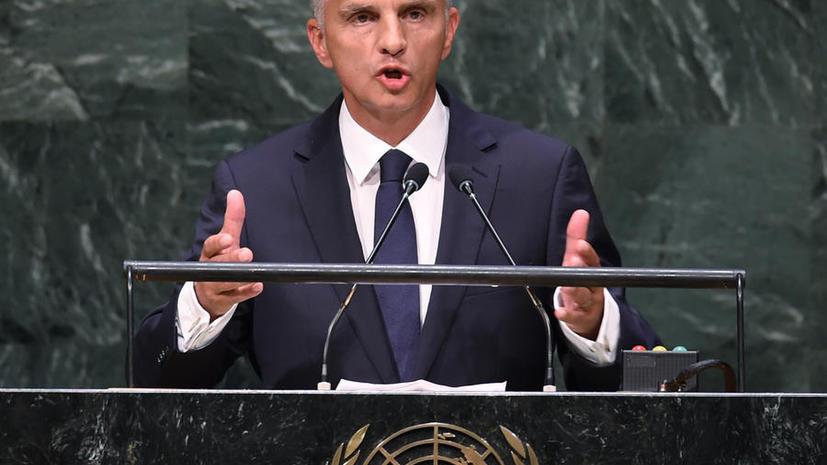 Президент Швейцарии Дидье Буркхальтер: Изоляция России создаст Европе новые проблемы