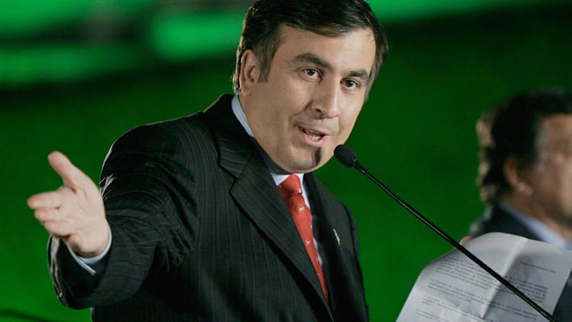 Михаил Саакашвили устроил скандал на официальном приёме