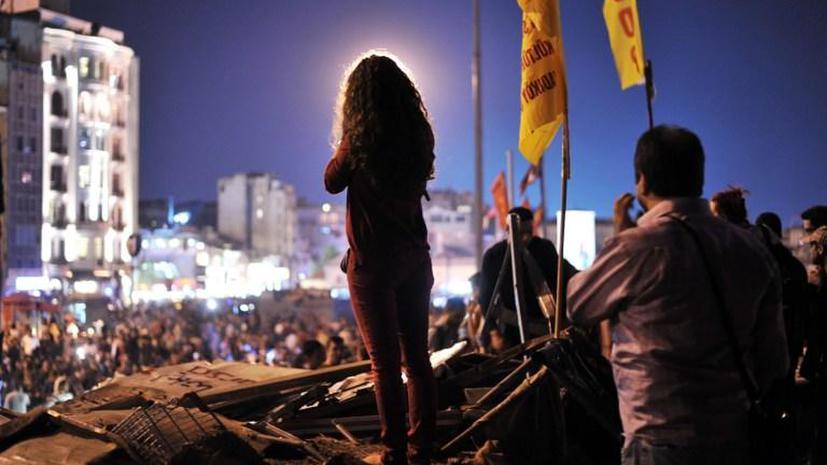 Турецкие демонстранты объявили о продолжении протестов