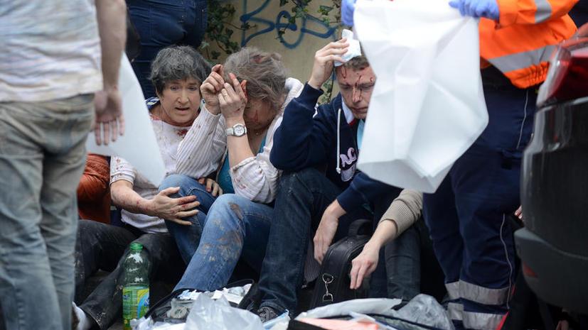 Взрыв в столице Чехии - первое видео из Праги с места происшествия