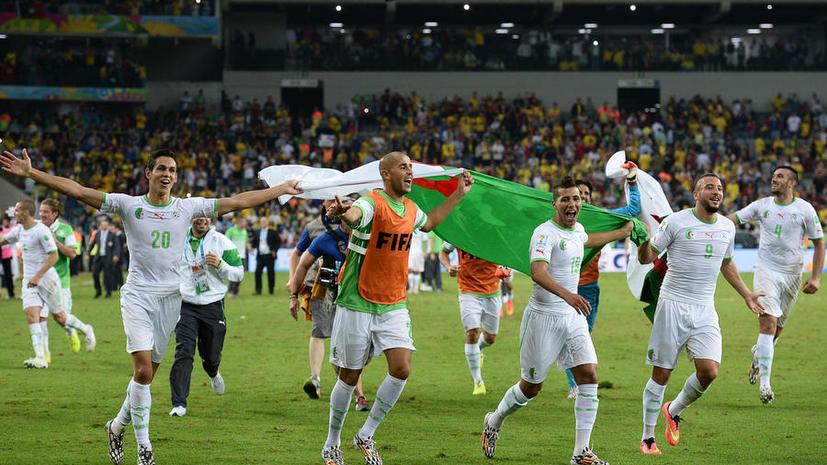 Международная федерация футбольных ассоциаций оштрафовала Алжир за лазерную указку