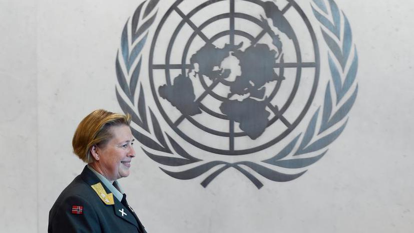 Командующим миротворцами ООН впервые стала женщина