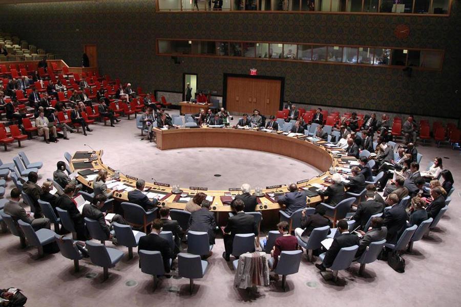 Россия на месяц стала председателем Совета Безопасности ООН