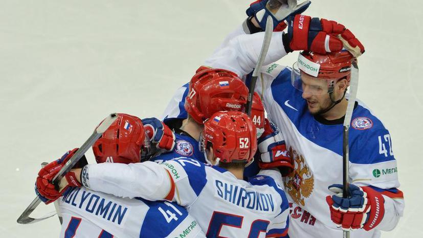Российские хоккеисты одержали крупную победу над Швейцарией на старте чемпионата мира