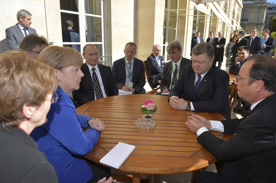 Лидеры «нормандской четвёрки» заявили о позитивных подвижках в выполнении Минских соглашений