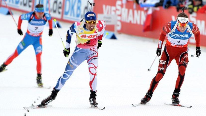 Антон Шипулин выиграл бронзовую медаль ЧМ по биатлону