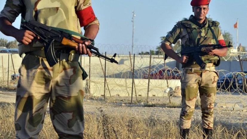Вертолёты египетской армии атаковали экстремистов на Синае