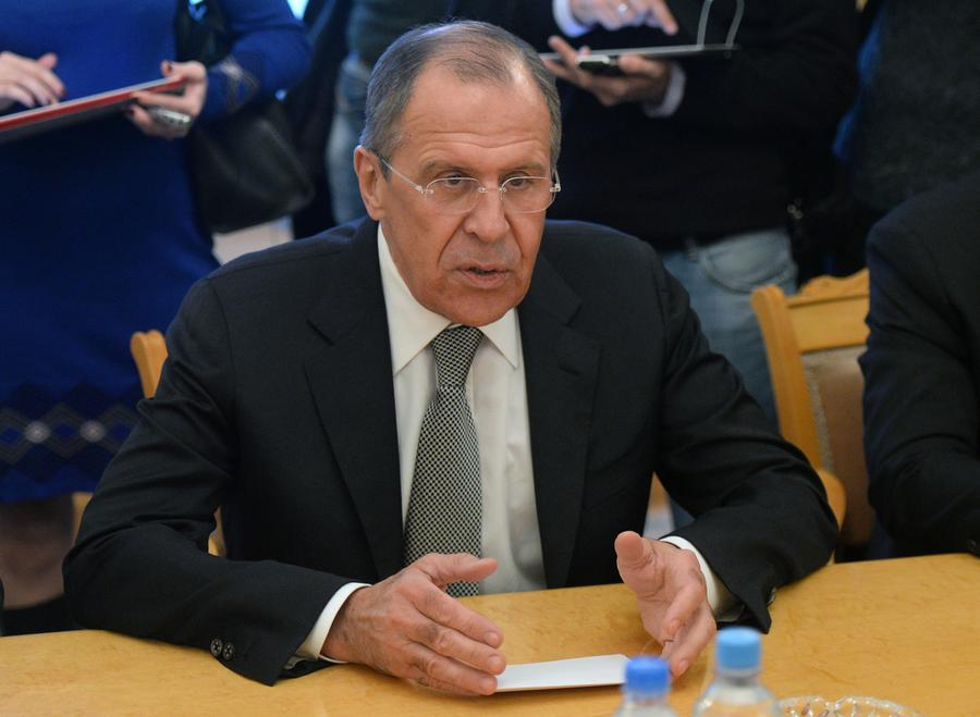 Сергей Лавров: Москва считает неприемлемым применение силы на юго-востоке Украины