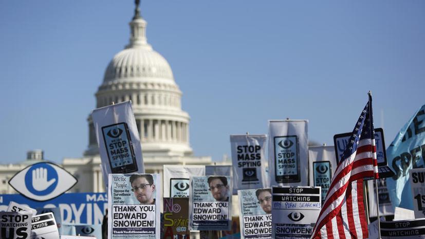 Сенат США не поддержал закон о шпионаже за гражданами