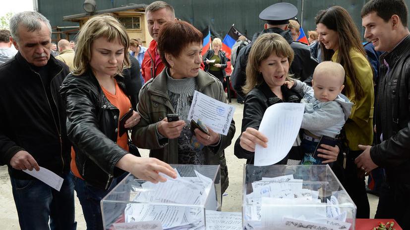Песков: Владимир Путин сформулирует своё отношения к референдумам на юго-востоке Украины по их итогам